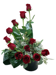 DFF228 Roses For The Heart Bouquet