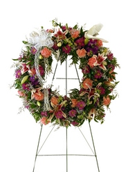 DFS244 Standing Wreath