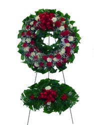 DFS246  Standing Wreath