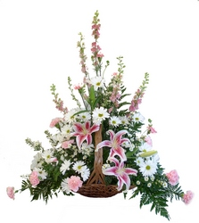 DFS364 Funeral Table Basket