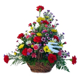 DFS375 Funeral Table Basket