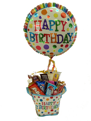 DFSNCKHB Happy Birthday Snack Basket