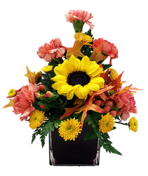 DFT1 Fall Fancy Cornucopia Arrangement