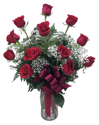 LRSE Red Roses Arranged