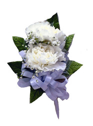 P7-2 Double Lg Carnation Corsage