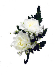 P6 Double Mini Carnation Boutonniere