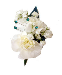 P6-RH Double Mini Carnations Boutonniere