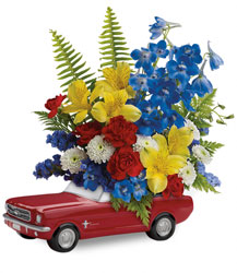 15F100  '65 Ford Mustang Bouquet