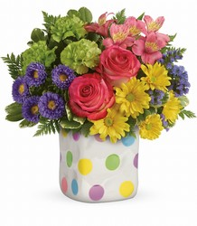E300A Teleflora's Happy Dots Bouquet