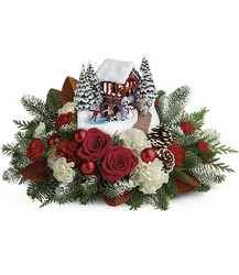 X200A Thomas Kinkade's Snowfall Dreams Bouquet