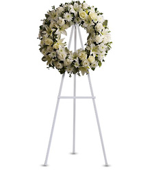 T239-3A Serenity Standing Wreath