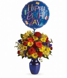 T24-1A Fly Away Birthday Bouquet