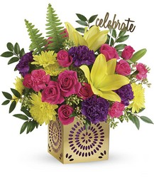 T602-1A Colorful Celebration Bouquet
