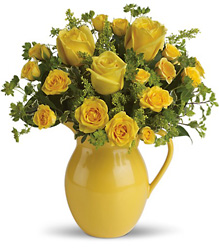 T71-1A Sunny Day Pitcher of Roses