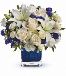 TEV25-3A Teleflora's Sapphire Skies Bouquet