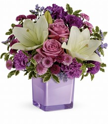 TEV45-1A  Pleasing Purple Bouquet